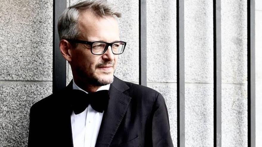 El pianista Luis Fernando Pérez.