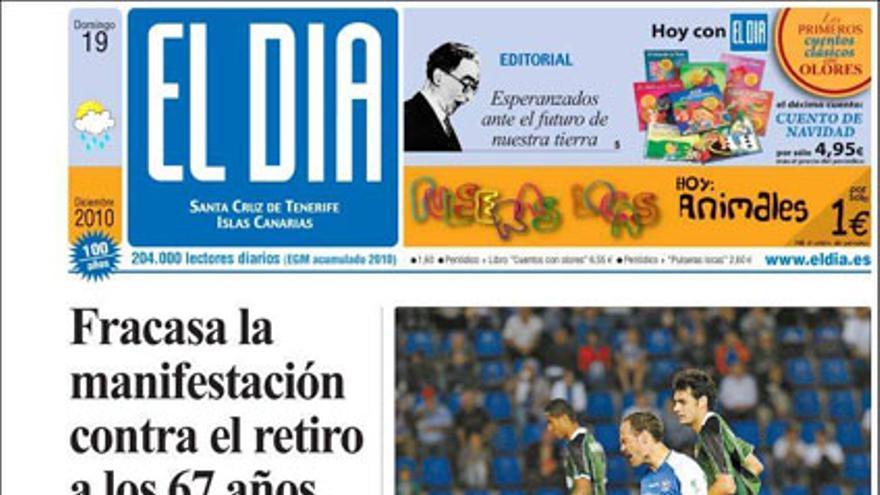 De las portadas del día (19/12/2010) #4