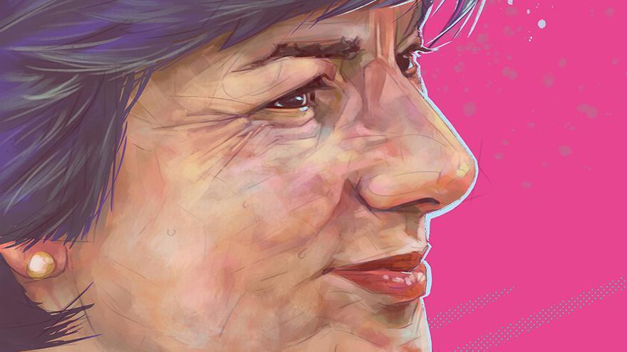 Retrato de Dolores Vázquez