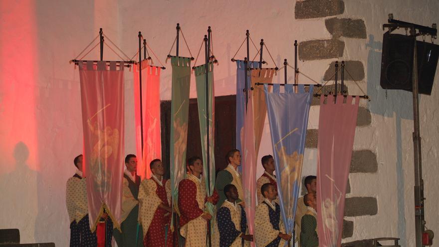 Imagen de archivo del Carro Alegórico y Triunfal de las Fiestas Lustrales.