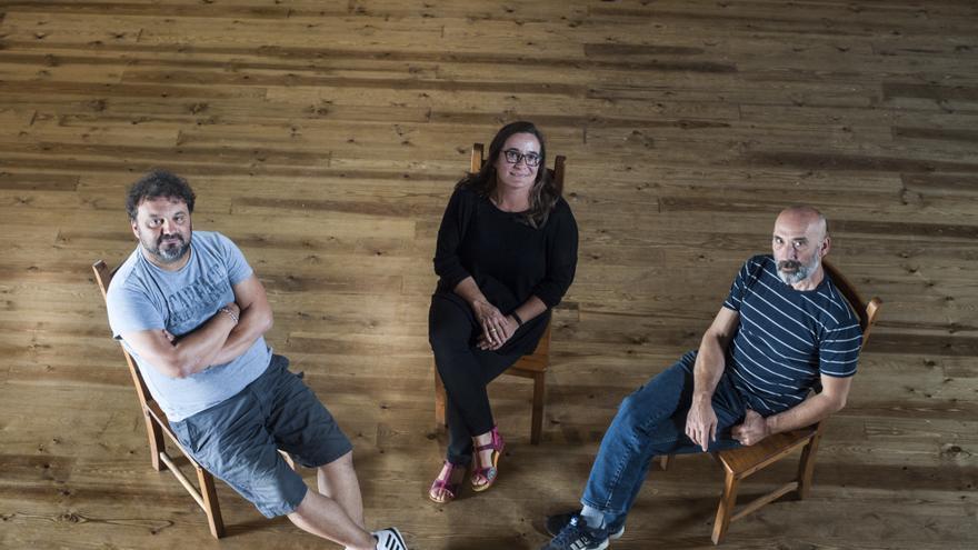 Sandro Cordero, Begoña García y Nacho Fernández. | JOAQUÍN GÓMEZ SASTRE