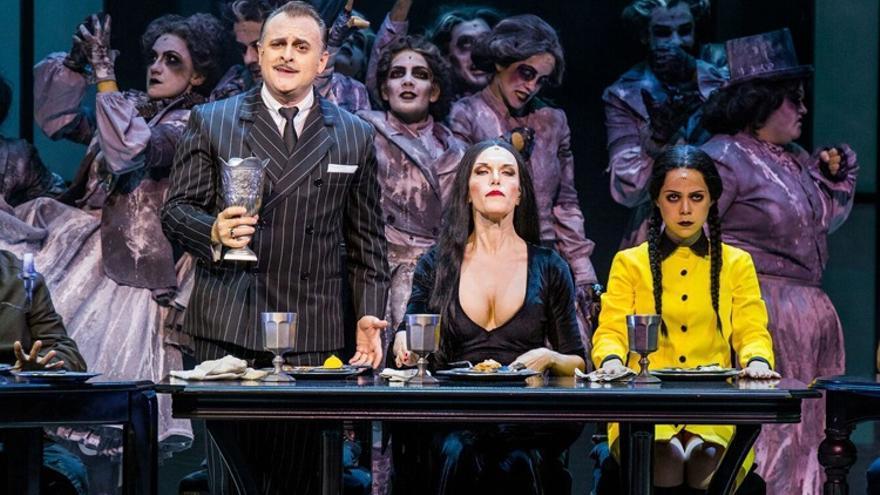 El musical 'La Familia Addams' llegará en septiembre al Palacio de Festivales