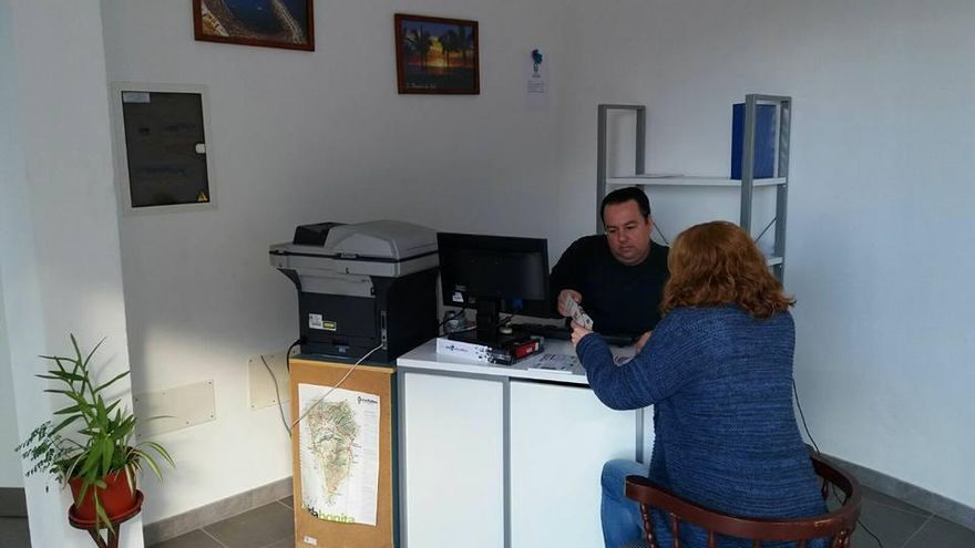 Agencia de Colocación Municipal de Tazacote acreditada por el Servicio Canario de Empleo. Foto cedida por el Ayuntamiento de Tazacorte.