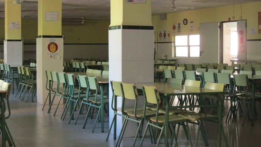 Más de la mitad de los alumnos que acuden al comedor escolar han hecho uso del servicio de manera gratuita