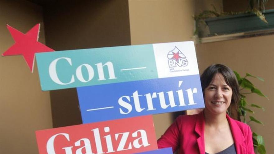 """La candidata del BNG lamenta que las encuestas busquen """"incidir en el voto"""""""