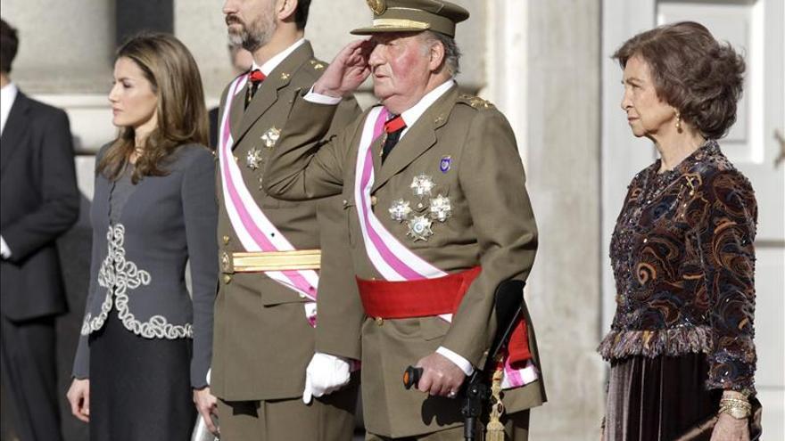 El Rey reaparece hoy fuera de la Zarzuela para presidir la Pascua Militar