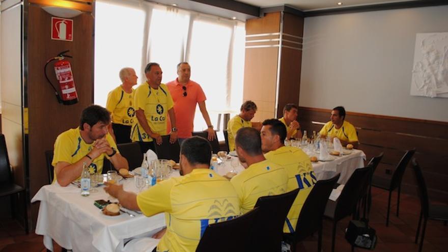 La mesa del equipo técnico