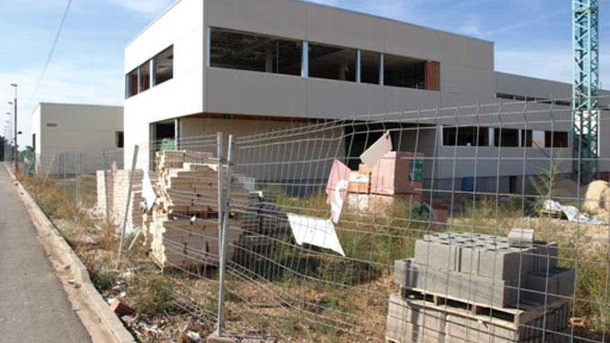 Obras del centro de salud de Membrilla (Ciudad Real) / Foto: Ayuntamiento