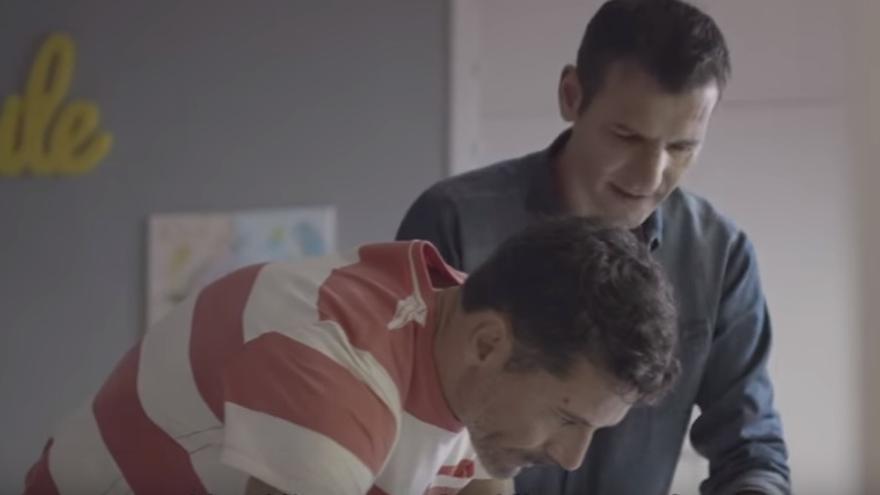 Imagen del anuncio de El Corte Inglés