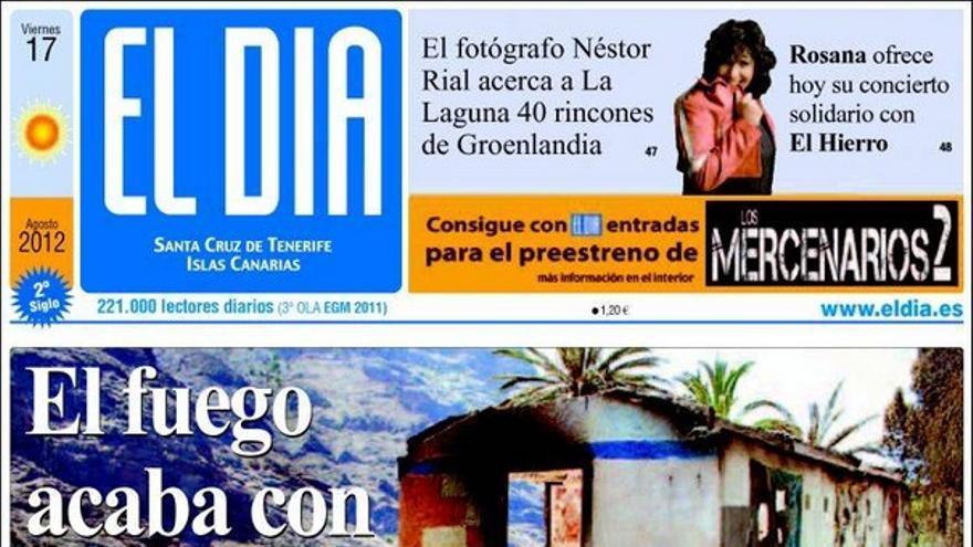 Las portadas del día (17/08/2012) #11
