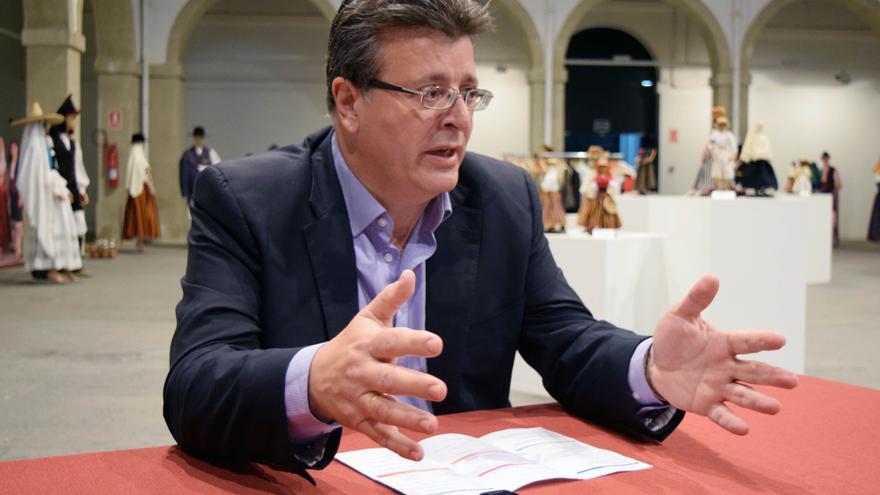 José Carlos Acha, concejal de Cultura en Santa Cruz