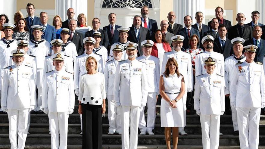 El Rey inaugura el Edificio de la Hora en el Observatorio de la Armada