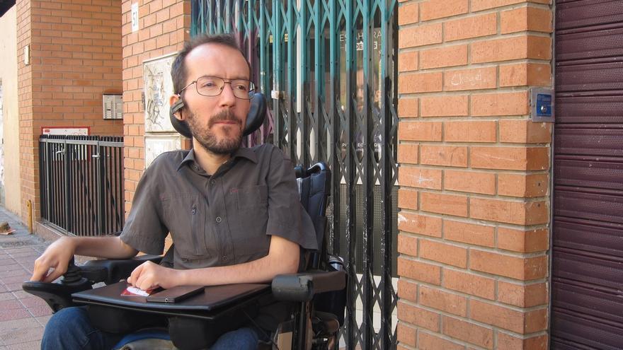 """Echenique (Podemos) ve """"normal"""" el nombramiento de Luis Maestre dado que ya es funcionario del Ayuntamiento de Madrid"""