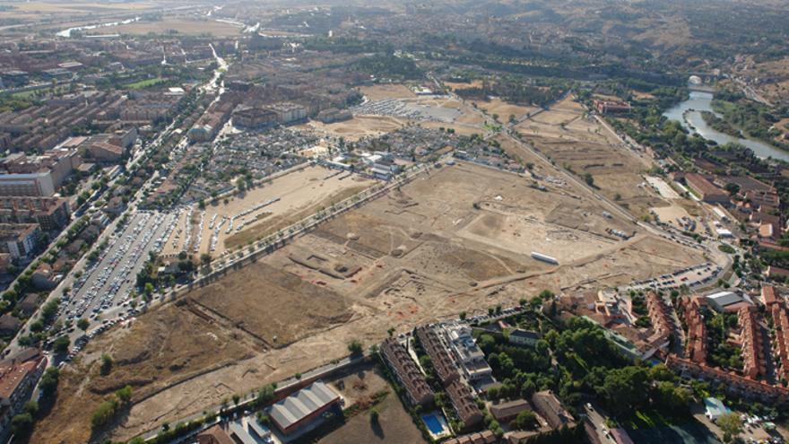 Espacio que ocupa la Vega Baja de Toledo / diegoperis.com