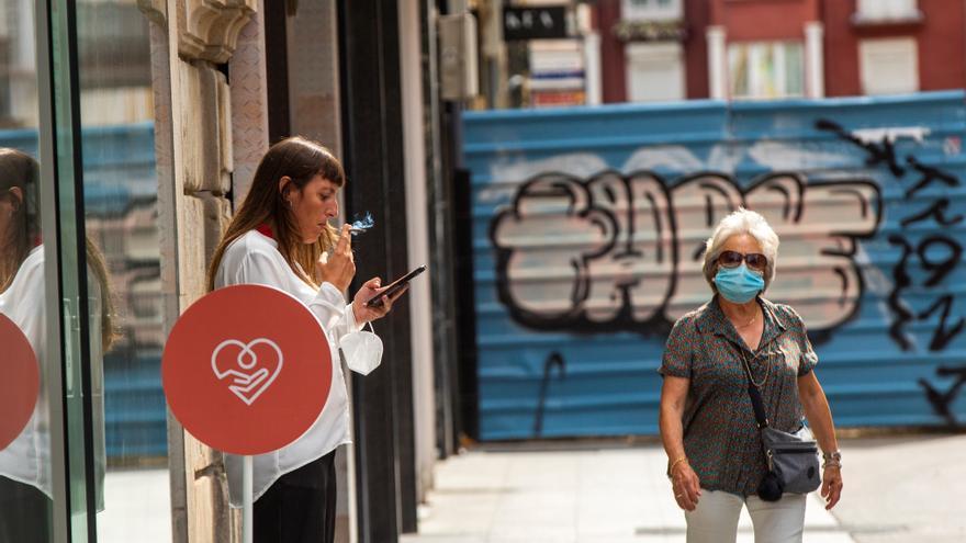 Álava arranca la semana como el territorio vasco con mayor incidencia de la pandemia