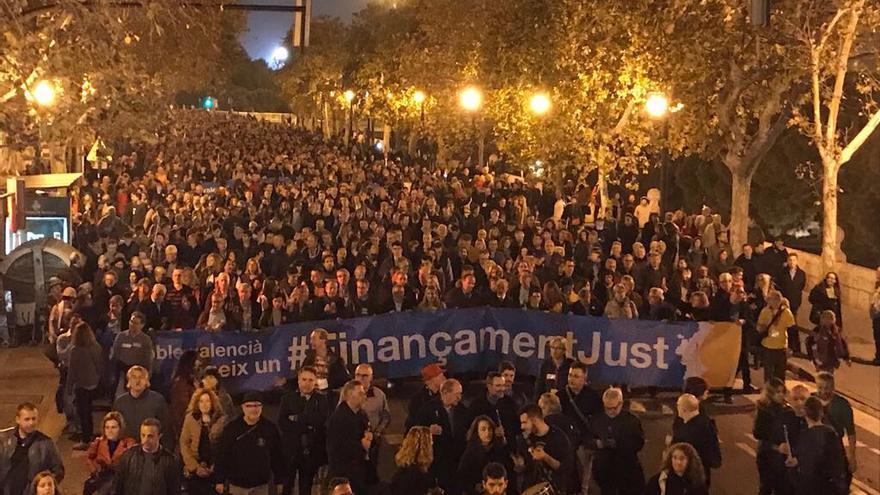 Una imagen de la manifestación.