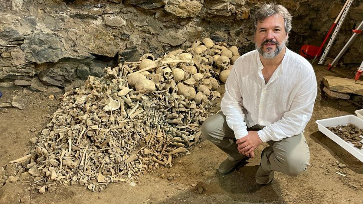 El historiador Xabier Irujo