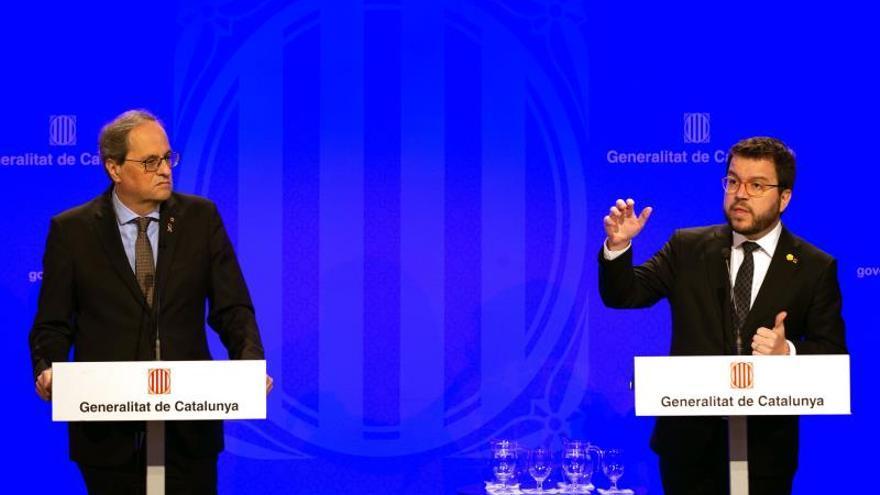 Aragonès urge a aprobar presupuestos para poder actuar mejor contra virus