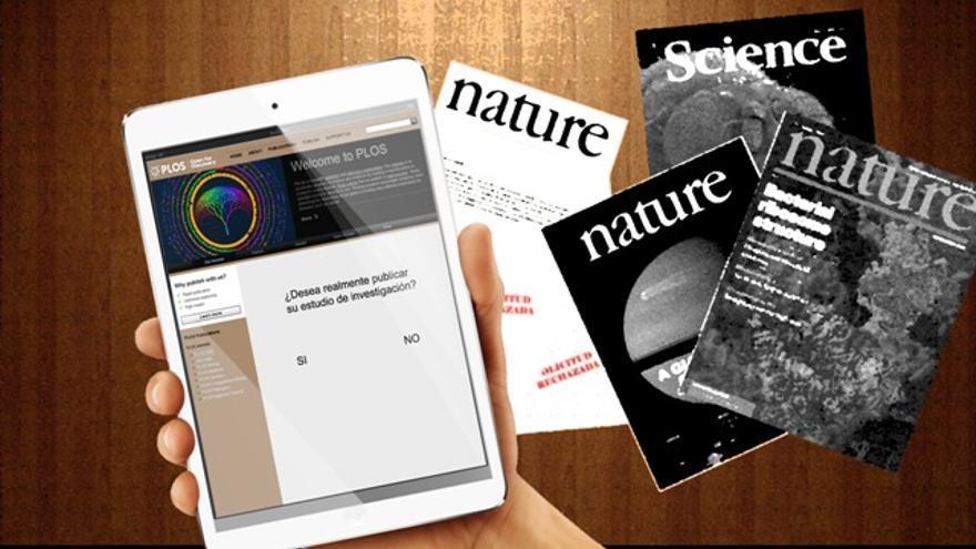 La evolución de las publicaciones cientificas