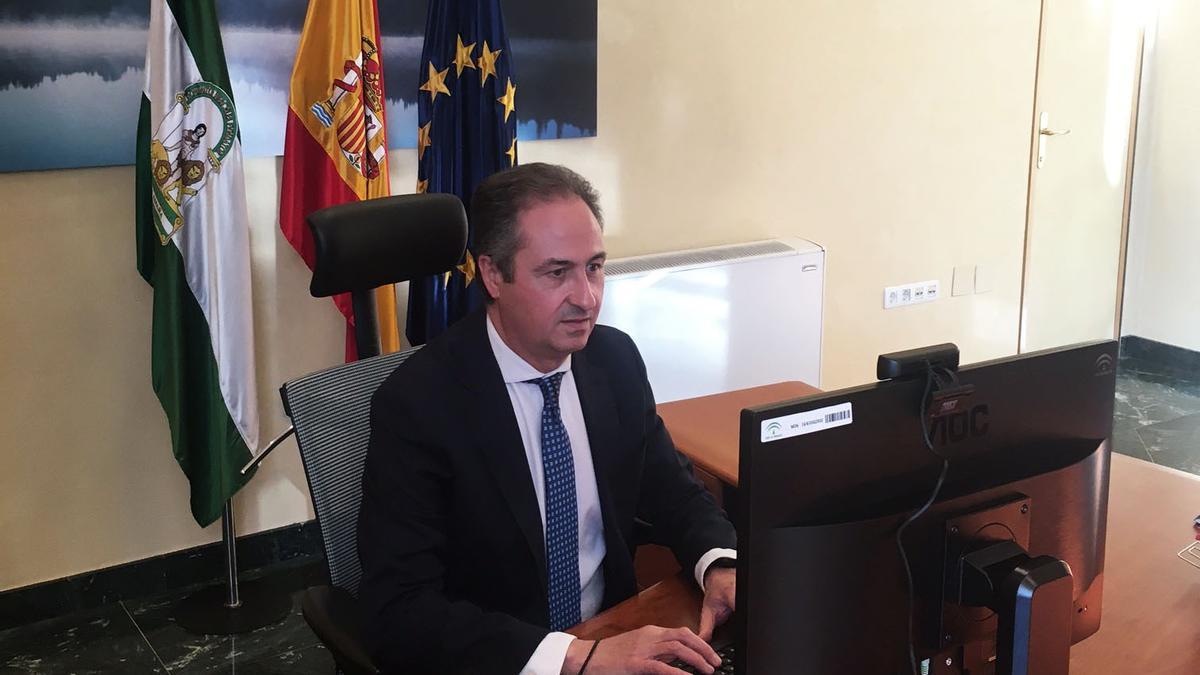 El delegado de Turismo Ángel Pimentel