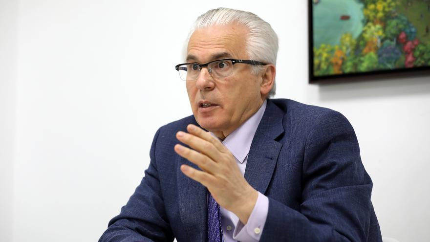 Baltasar Garzón, durante la entrevista.