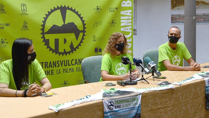 Transvulcania Bike se disputa este sábado con un descenso desde el desvío al Pico de la Nieve hasta la plaza de Candelaria