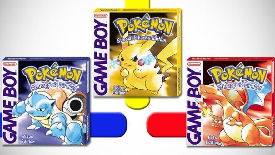 pokémon rojo azul y amarillo
