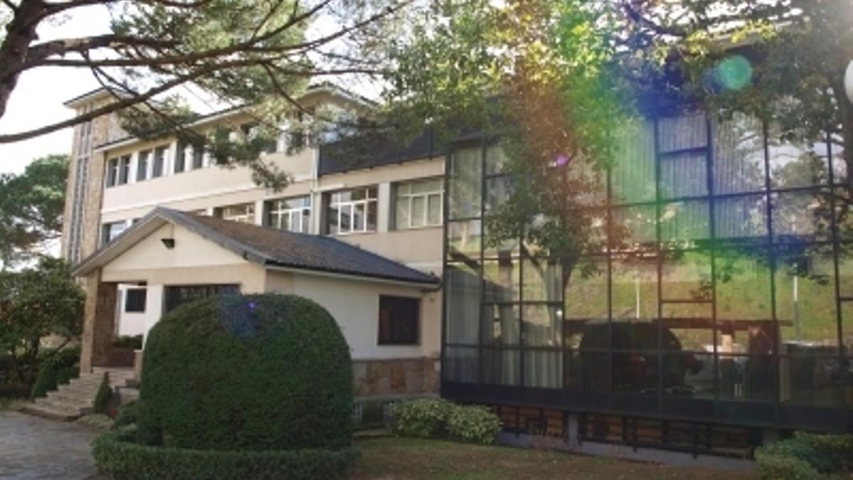 Sede del Institututo de Educación Superior Intercontinental de la Empresa en Vigo.