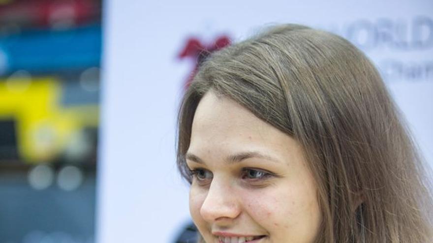 Anna Muzychuk, doble campeona mundial de ajedrez