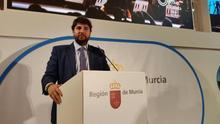 López Miras augura el doble de turistas para Murcia con la llegada del AVE y el aeropuerto de Corvera