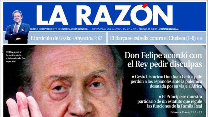 De las portadas del día (19/04/2012) #9