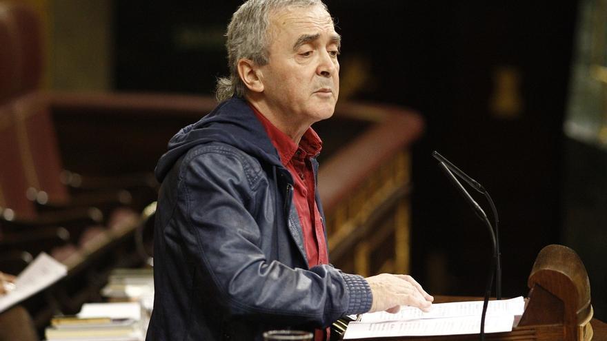 """Amaiur denuncia la """"sádica"""" dispersión de presos de ETA y acusa a Rajoy de imponer una """"Francocracia"""""""
