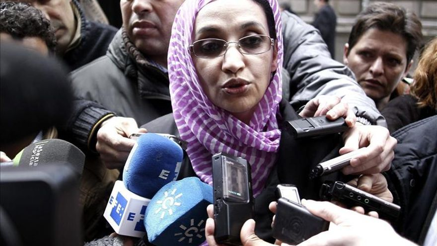 Aminatu Haidar reclama a España que reconozca la autodeterminación saharaui