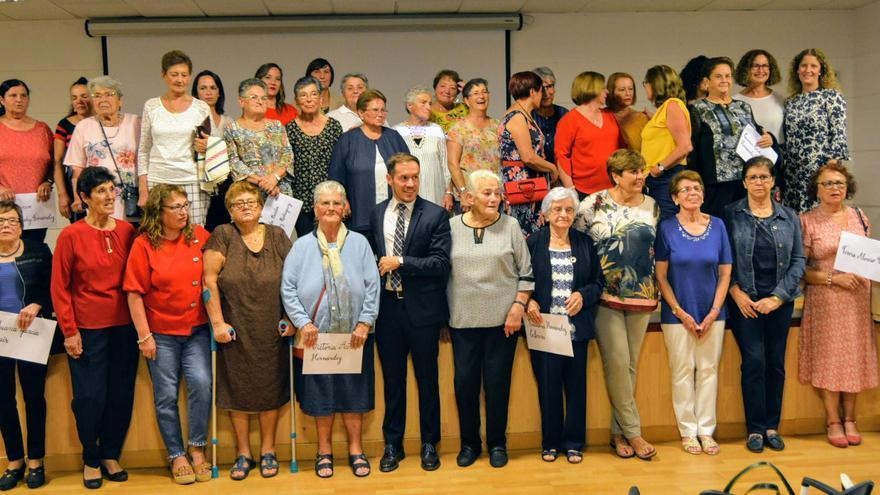 Acto de conmemoración del Día de las Mujeres Rurales celebrado en el Museo Arqueológico Benahoarita, en Los Llanos de Aridane