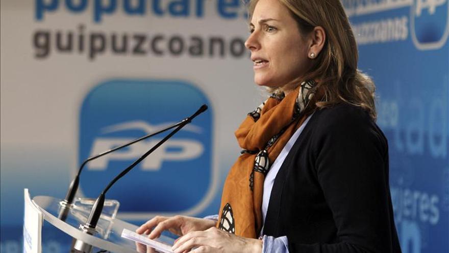 Arantza Quiroga asume hoy la presidencia del PP vasco