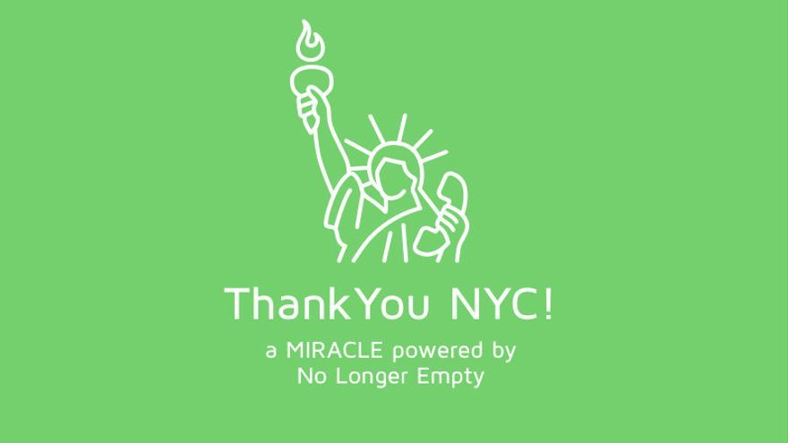 Logo de Thank You NYC!