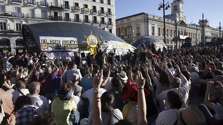 El 15M cumple cinco años a caballo entre las calles y las instituciones