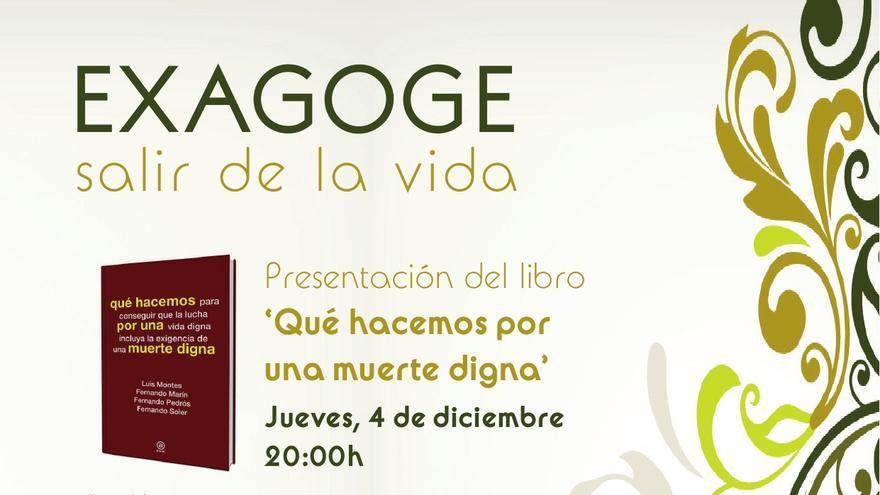 Cartel actos Asociación Derecho a una Muerte Digna en Sonseca (Toledo)