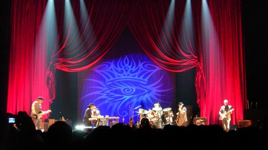 Concierto de Bob Dylan en Bolonia. 2005