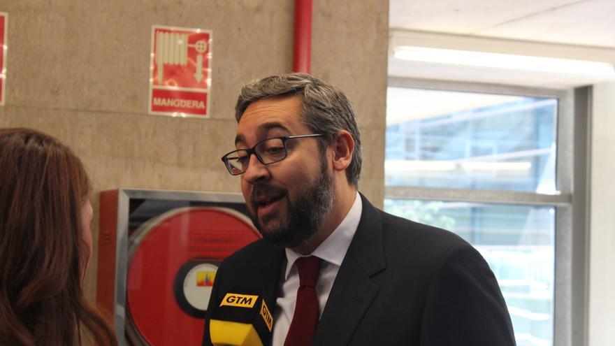 El portavoz del Grupo Pupular, Víctor Martínez / PSS
