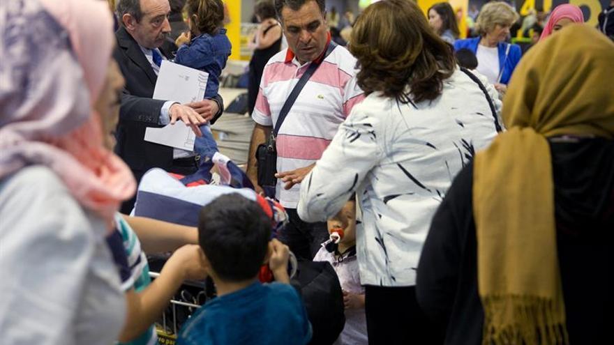 Llega a España otro grupo de dieciocho refugiados sirios desde Turquía