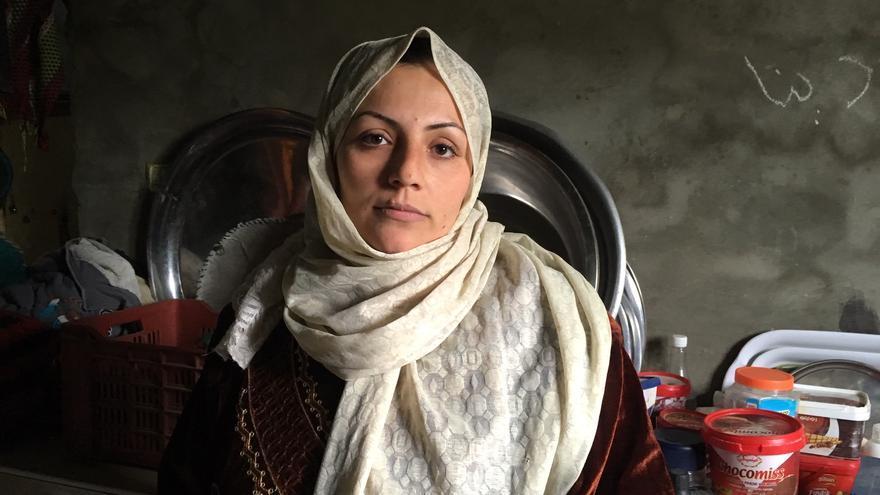 Maryam Galiah vive junto a su familia en Beit Lahia, al norte de la franja de Gaza.