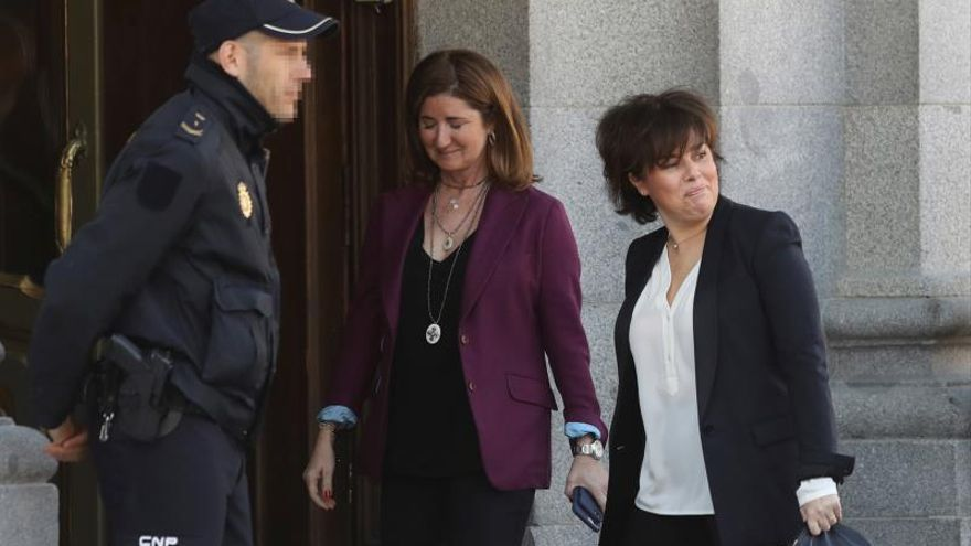 """Santamaría defiende la prudencia policial frente a la """"violencia"""" del procés"""