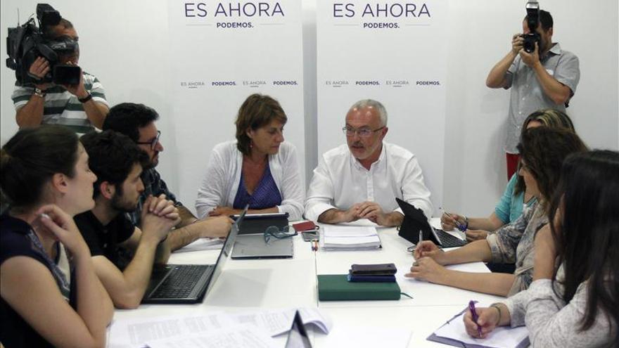 """Podemos cita a PSPV y Compromís a una reunión """"exploratoria"""" el próximo lunes"""