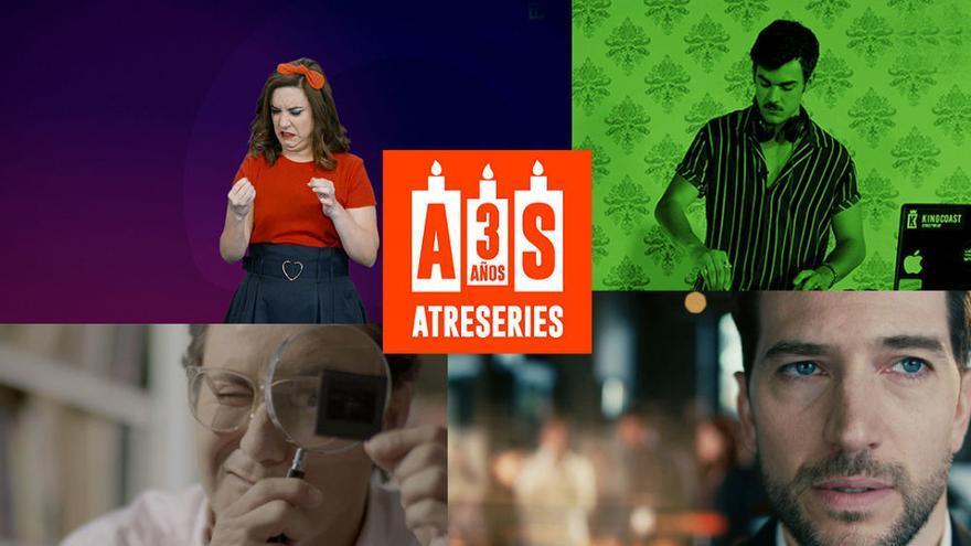 Atreseries lanza un concurso sobre ficción y resucita personajes míticos por su 3r aniversario