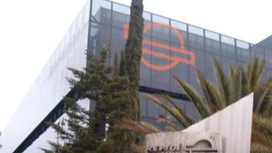 Repsol ypf sede edificio
