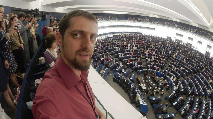 El eurodiputado de Equo, Florent Marcellesi
