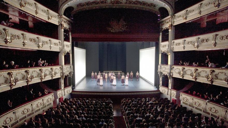 Imatge d'una actuació en el Teatre Principal