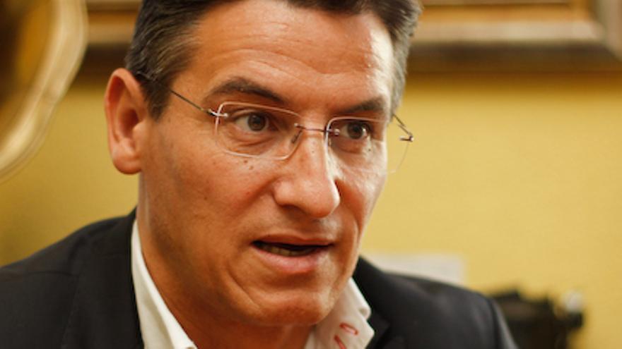 Luis Salvador, portavoz de 'Socialismo y Ciudadanía'. - Luis-Salvador-portavoz-Socialismo-Ciudadania_EDIIMA20131018_0641_4