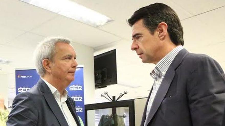 Sebastián Franquis y José Manuel Soria.
